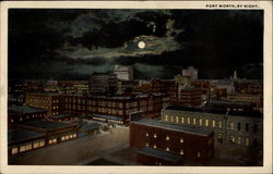 Fort Worth, by night Postcard