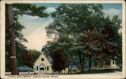Chapel and Library, Asbury Grove, Mass