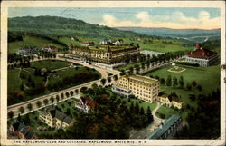The Maplewood Club and Cotteges, Maplewood, White Mts. N.H