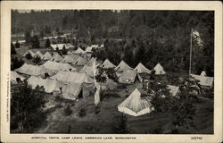 Hospital Tents, Camp Lewis