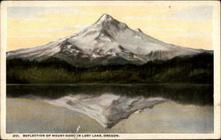 Reflection of Mount Hood