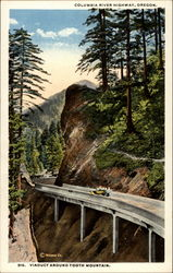 Viaduct around Tooth Mountain