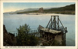Fish Wheel, Seen from the Columbia River Highway