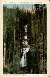 Yocum Falls as seen from Mt. Hood Loop Highway