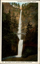 Columbia River Highway Postcard