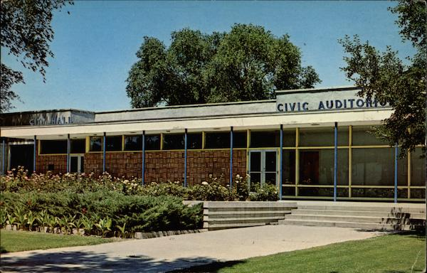 Civic Auditorium and City Hall Grand Junction Colorado