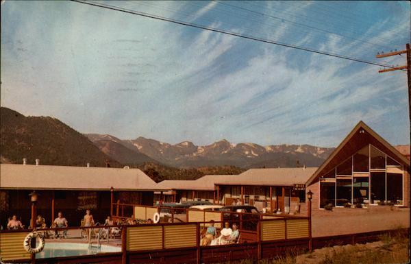 Overlooking Lake Estes Lazy T Motel
