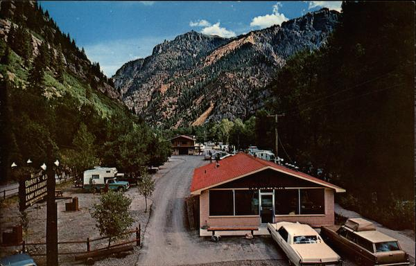 4J + 1 + 1 Trailer Park, Campground Ouray Colorado