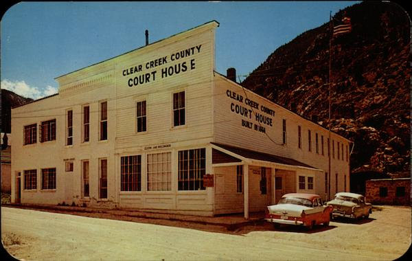 Clear Creek County Court House Georgetown Colorado
