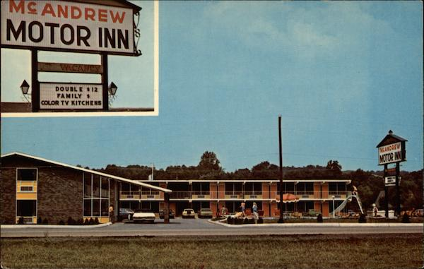 Mcandrew Motor Inn Pigeon Forge Tn