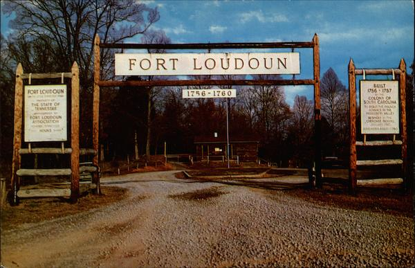 Old Fort Loudon Chattanooga Tennessee
