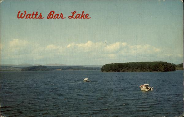 View of Lake Watts Bar Lake Tennessee