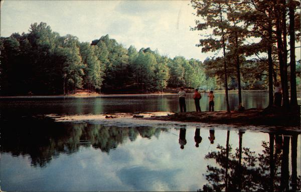 Fishing in Shelby Forest State Park Lucy Tennessee