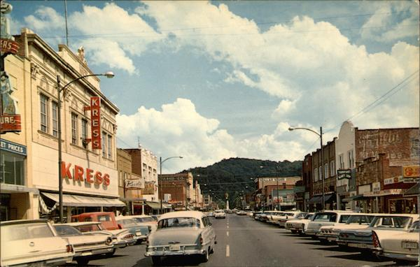 Downtown Elk Avenue Elizabethton, TN
