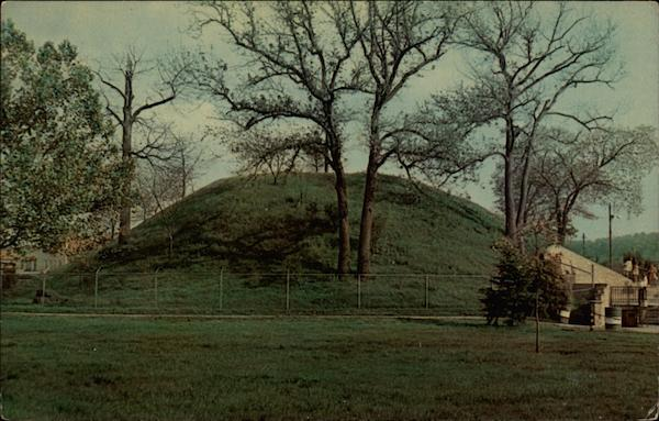 Prehistoric Indian Mound South Charleston West Virginia