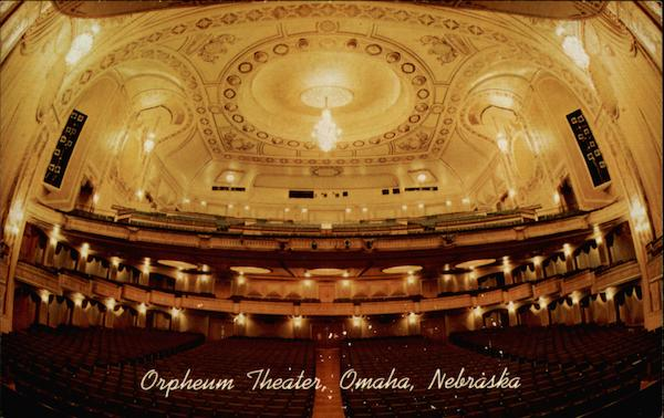 Orpheum Theater Omaha Nebraska