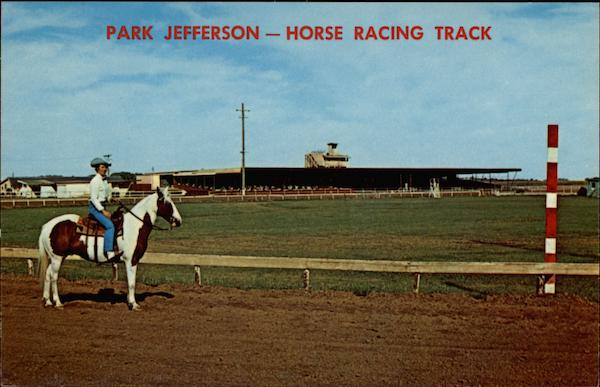 City Of South Gate >> Park Jefferson -- Horse Racing Track Sioux City, IA