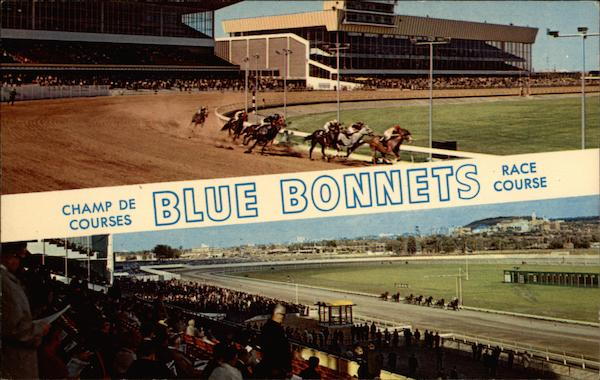 Blue Bonnets Race Course Montreal Canada Quebec