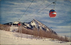 Telecar Gondolas on Crested Butte Mountain