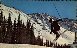 Exciting Ski Jumping in Ski Country, U.S.A