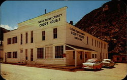 Clear Creek County Court House Postcard