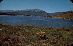 Sail Boats and Fishing Boats on Dillon Reservoir