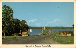 Approach to Eggner's Ferry Bridge