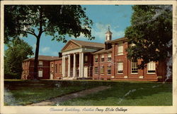 Clement Building, Austin Peay State College Postcard