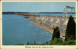 Wheeler Dam on the Tennessee River