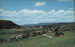 Scenic Pownal Valley Postcard
