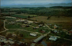 Aerial View of the Shelburne Museum