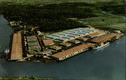 Aerial View of the Port of Lake Charles, Louisiana