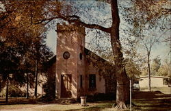 First church in the Nebraska Territory