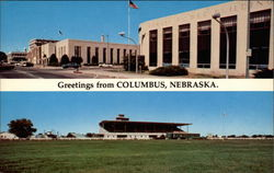Greetings from Columbus, Nebraska