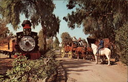 Stage Coach Robbery, Knott's Berry Farm & Ghost Town