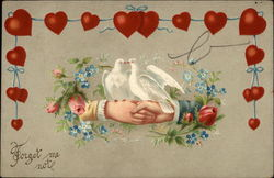 Doves, Hands, Hearts