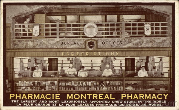 Montreal Pharmacy Canada Advertising
