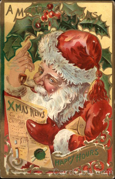 A Merry Christmas - Happy Hours Santa Claus