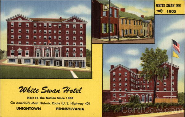 The White Swan Hotel Uniontown Pa