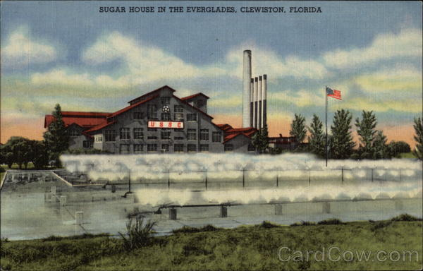 Sugar House in the Everglades Clewiston Florida