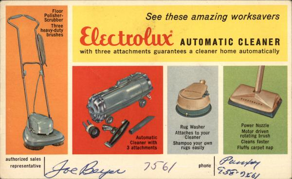 Electrolux Automatic Cleaner Advertising