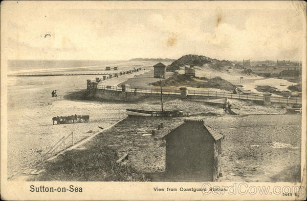 View from Coastguard Station Sutton-on-Sea England