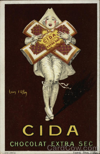 CIDA Chocolate Jean D' Ylen Advertising