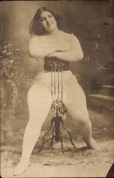 Muscular Lady - Sideshow?  Wrestler?