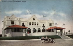 El Paso Country Club Postcard