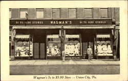 Wagman's 5c to $5.00 Store Postcard