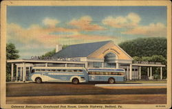 Greyhound Post House, Gateway Restaurant, Lincoln Highway