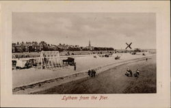 Lytham from the Pier