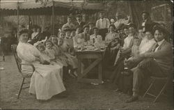 Group of People Dining
