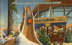 Lake Placid Bobsled Ride, Palisades Amusement Park